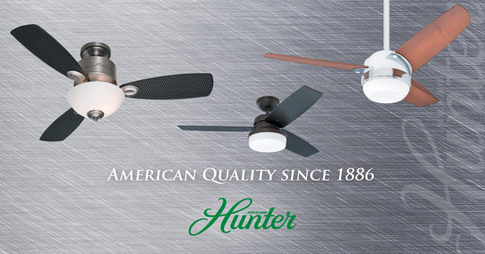Hunter Fan Hong Kong Designer Ceiling Fan Supplier Elar Group
